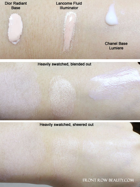 lancome-chanel-dior-makeup-base-swatches