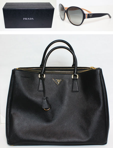 prada black leather wallet - Holiday Haul Part 2 \u2013 PRADA