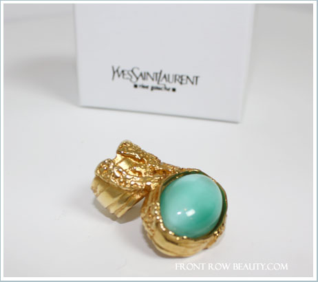 ysl-arty-ring-in-green
