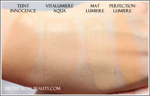 chanel-perfection-lumiere-vitalumiere-aqua-mat-swatches