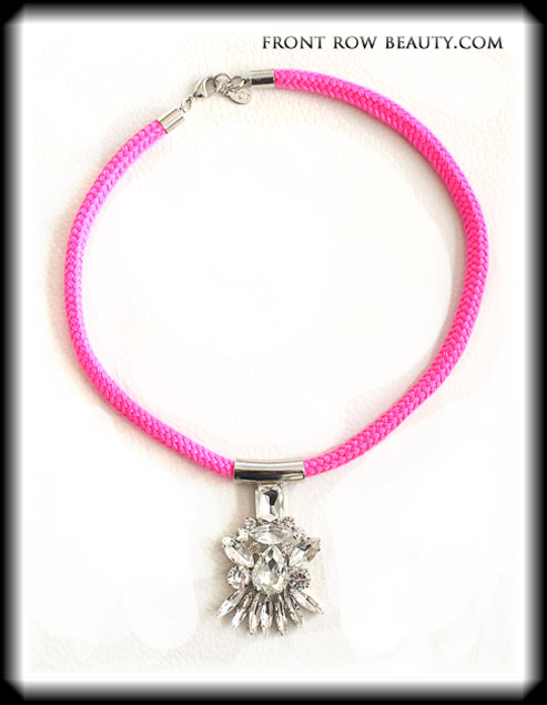 noir-jewelry-Neon-Crystal-Pendant-Necklace-pink