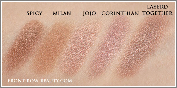 le-metier-de-beaute-true-color-eye-shadow-spicy-milan-jojo-corinthian-swatches