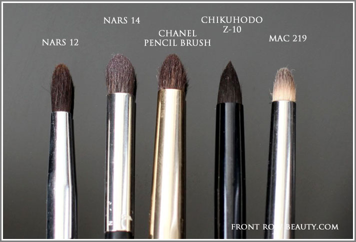 eye-shadow-pencil-brushes-comparison-mac-nars-chanel-chikuhodo