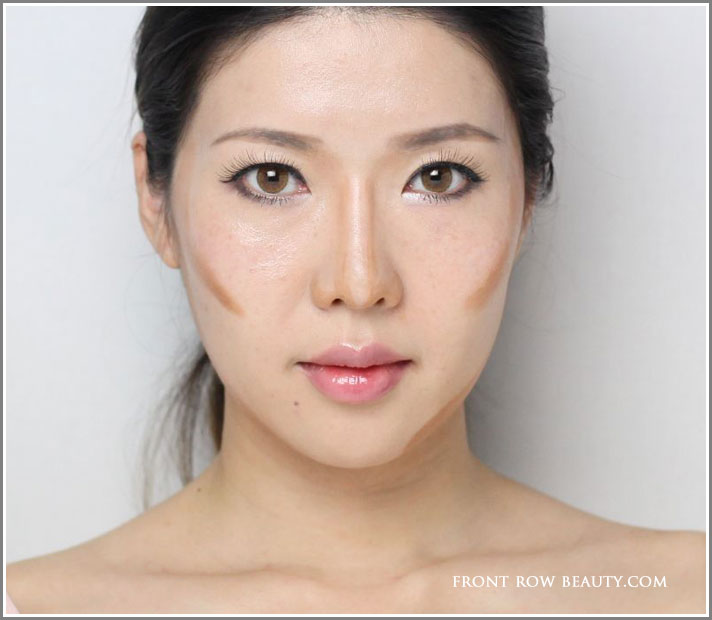 Contouring Tutorial For Asians Front