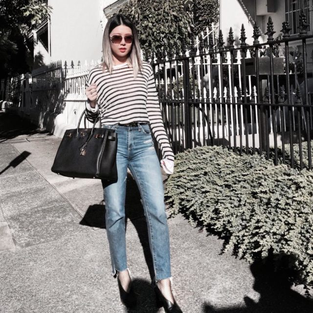 Do you wear repeating outfits? I do.. #ootd #lookoftheday #mylook #hermes #hermesblack #hermeslover #blackbirkin #hermesbirkin35 #hermesbirkin #instastyle #luxury