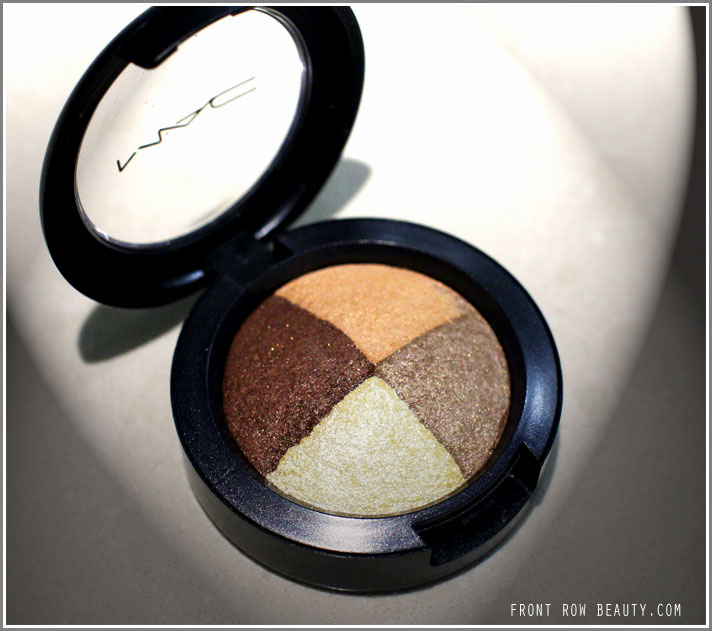 Back, with a mini MAC Golden Hour Mineralize Eyeshadow Review and FOTD