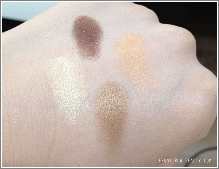 MAC-golden-hour-mineralize-eyeshadow-swatches