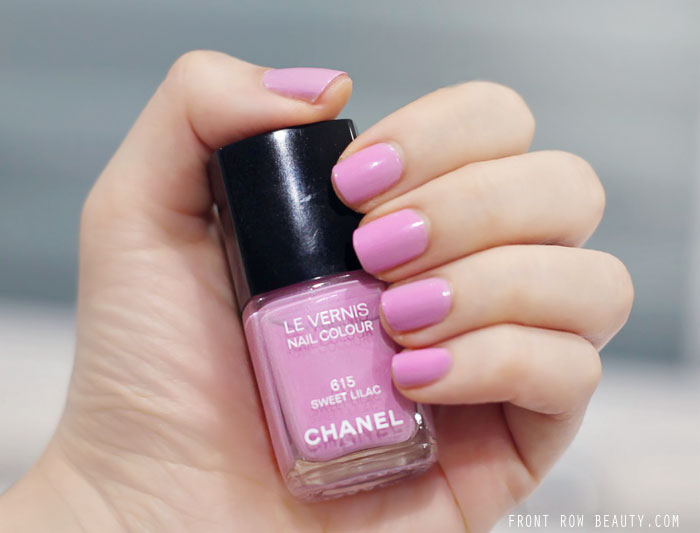 Chanel Summer 2014 – Le Vernis Sweet Lilac 615 Swatch and Review