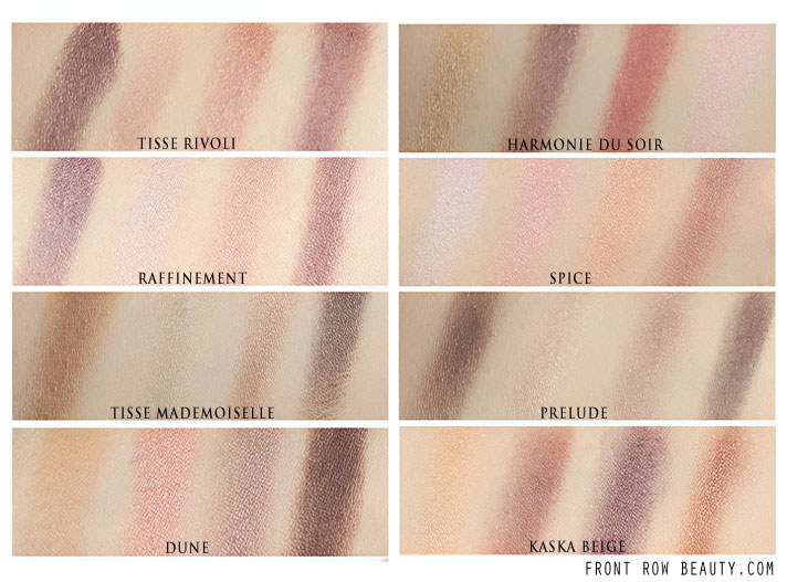 chanel-Les-4-Ombres-Quadra-Eye-Shadows-226-Tisse-Rivoli-214-Tisse-Mademoiselle-reviews-swatches-comparison-2
