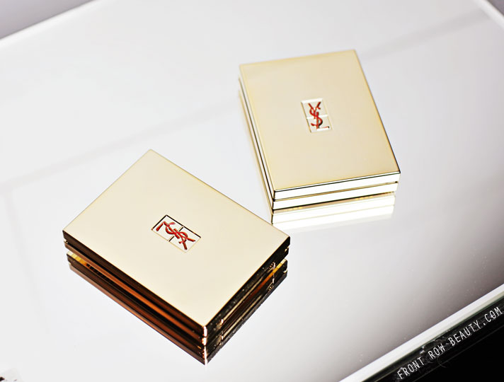 YSL 5 Color Couture Palette 02 Fauves and 04 Saharienne Review and Swatches