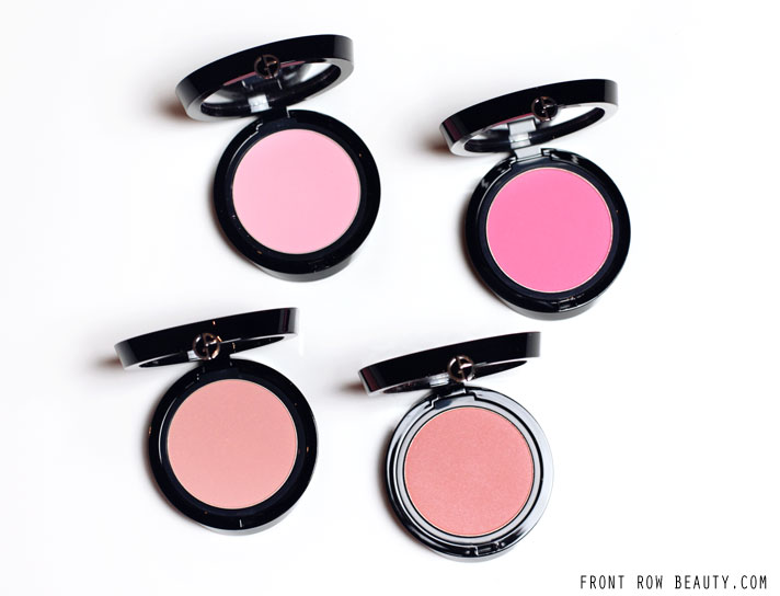 Giorgio Armani Cheek Fabric Blush Review and Swatches – POP, FLESH, ATTITUDE and SKIN