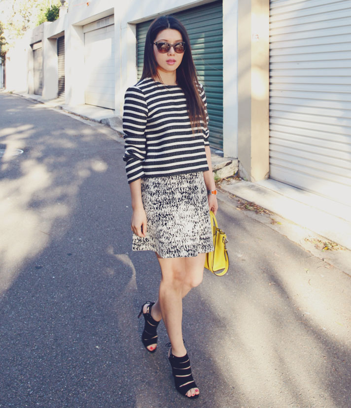 theory-Tweedscape-skirt-thierry-lasry-angely-sunglasses-aquazurra-sloane-cutout-sandals-ootd-1