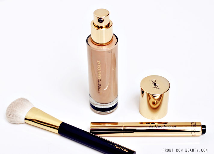 YSL Touche Eclat Illuminating Foundation Review and Swatch