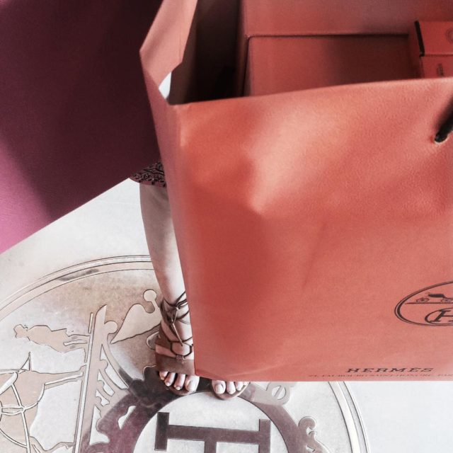 Super duper happy with what I found at Hermes today #unboxsoon #shoppinginhawaii #hermes #hermeslover #revealsoon