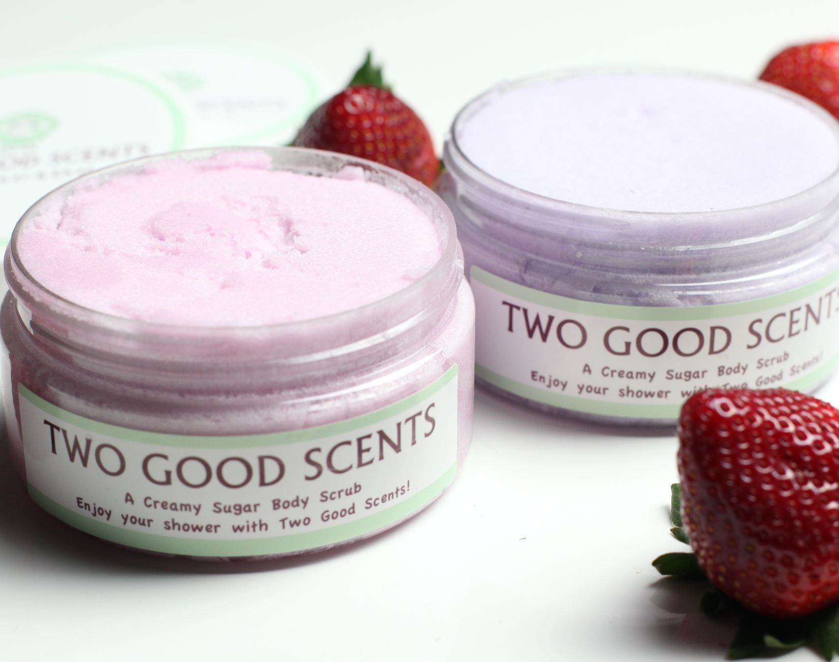 Two Good Scents Sugar Body Scrubs