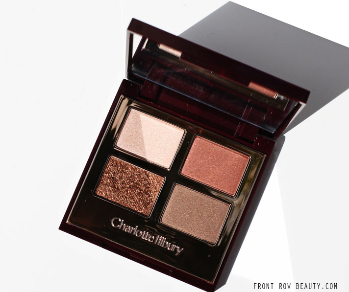 Charlotte Tilbury Eyeshadow Quad Review, Swatches and FOTD – The Dolce Vita