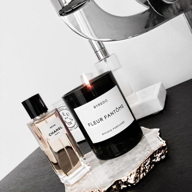 Scents of the day #chanel #chanellover #chanelbeauty #chanelperfume #byredo #byredocandle #luxury #beautyjunkie #luxurybeauty