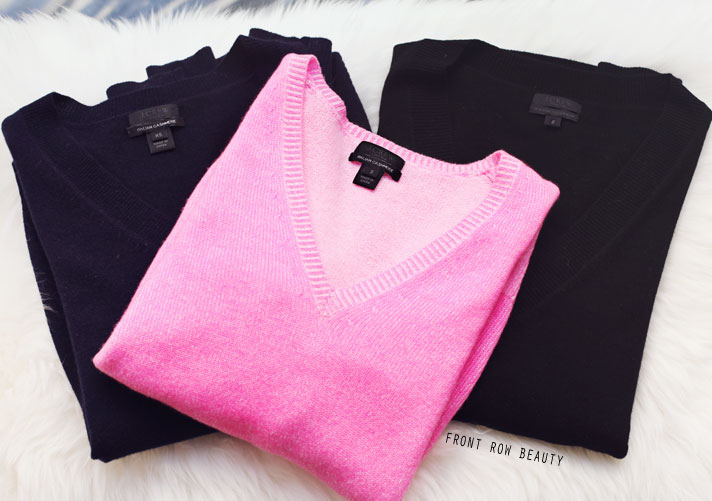 jcrew-cashmere-boyfreind-sweater-black-navy-pink-review