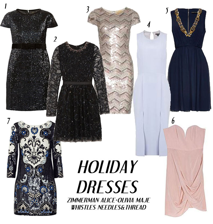 2014 Holiday Edition – My Picks for the Party Dresses