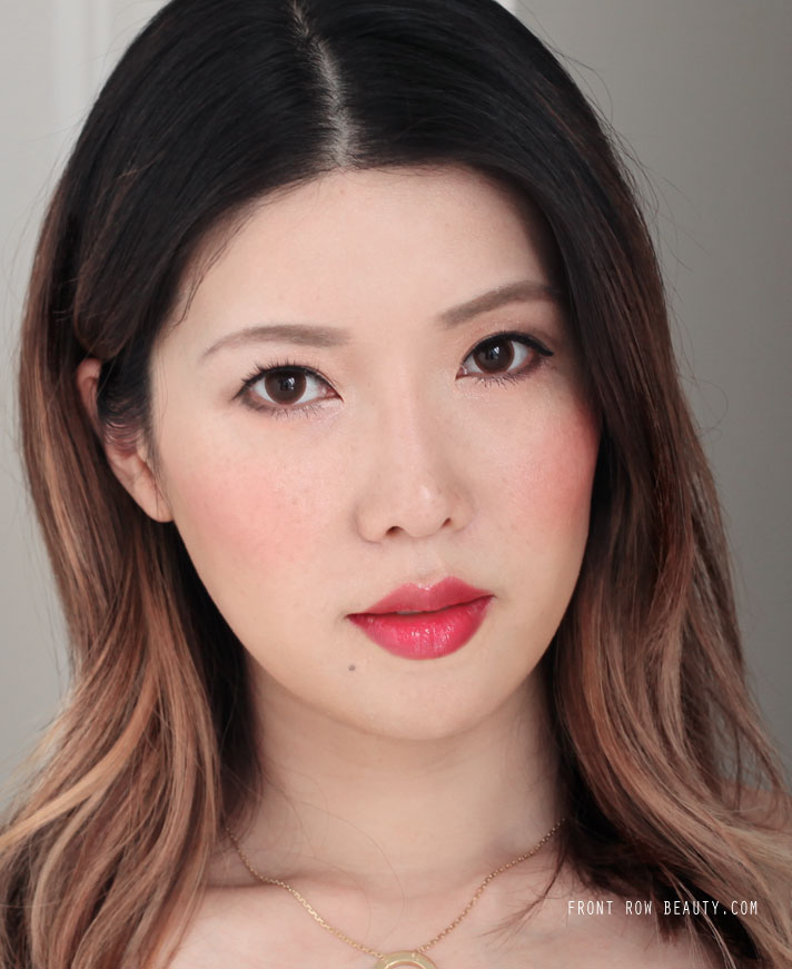 Shiseido-Macquillage-dramatic-melting-rouge-RD425-review-swatches-fotd