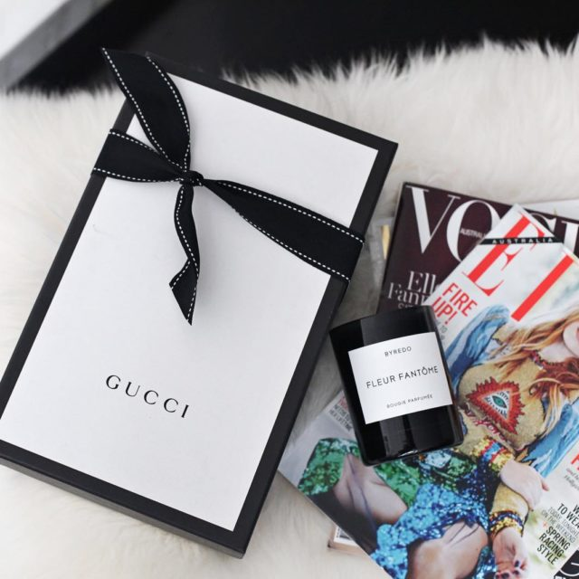 This #gucci delivery made my day #newin #fashionlover #luxe #fromabove #blogger #flatlay #shoesaddict