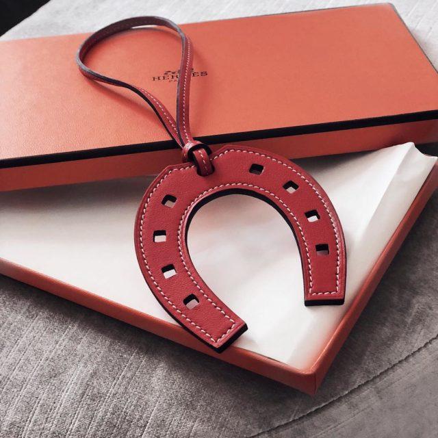 #newin My first buy of the year #Hermes #rougetomato #hermesbagcharm #hermespaddockcharm #Hermeslover