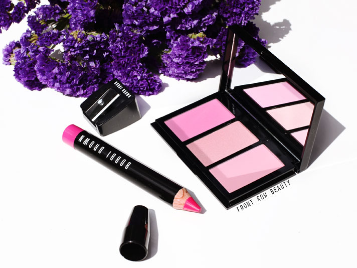 Bobbi Brown Hot Collection – Cheek Palette Pink and Art Stick in Hot Pink Review, Swatch and FOTD