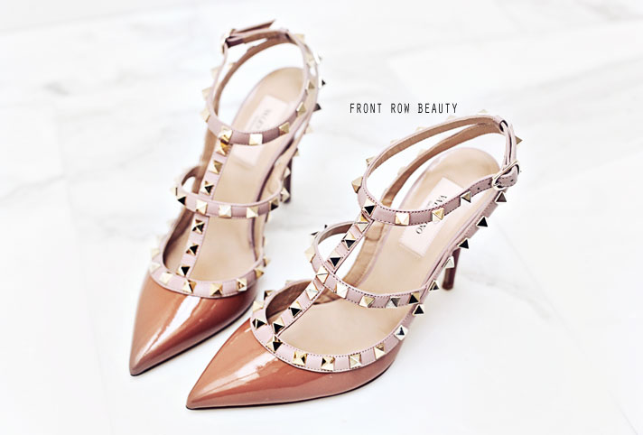 valentino-rockstud-brown-camel-beige-patent-leather-pump-sandal