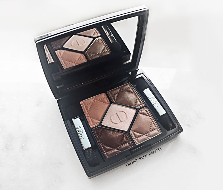 Dior 5 Colors Couture Eye Shadow Palette Ambre Nuit 746 Review and Swatch – Dior Tie Dye Collection
