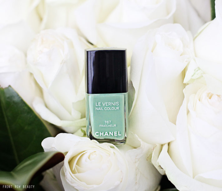 Chanel Le Vernis 767 FRAICHEUR Review and Swatch