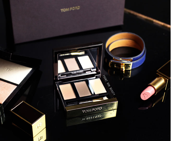 Tom Ford Brow Sculpting Kit Color Light Review and Swatch