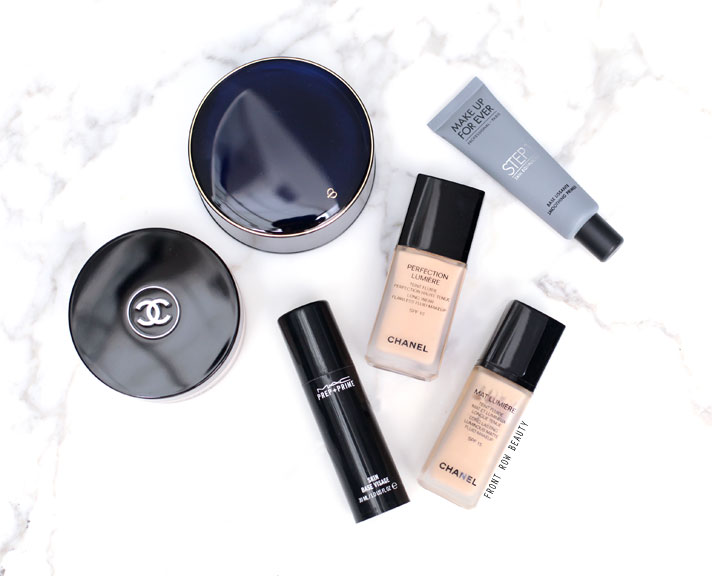 A Round-up of the Best base face products for combination and oily skin