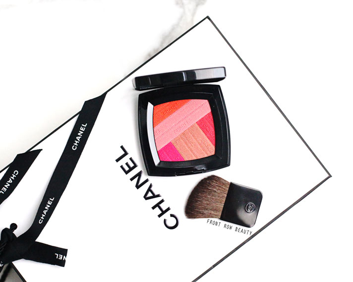 Chanel LA Sunrise Spring 2016 Makeup Collection – Sunkiss Ribbon Blush Review, Swatch and FOTD