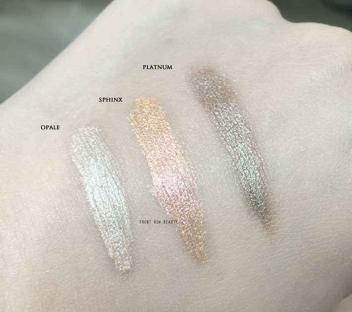 Tom Ford Cream Color For Eyes Review and Swatch – Opale, Platinum and Sphinx