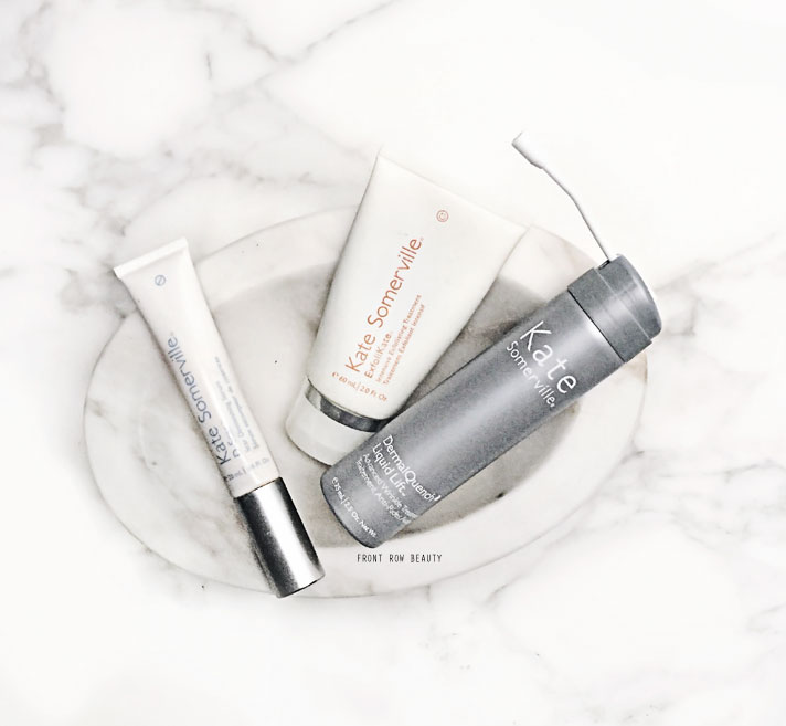 Kate Somerville ExfoliKate Intensive Exfoliating Treatment, Dermal Quench Liquid Lift Review