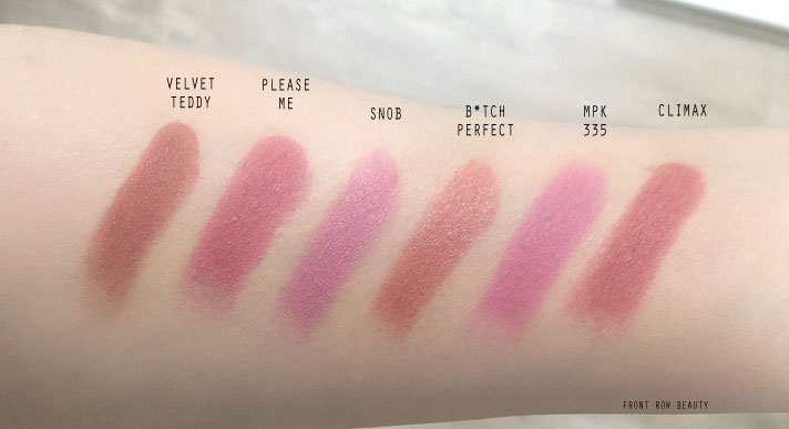 MAC-lipstick-velvet-teddy-please-me-snob-charlotte-tilbury-bitch-perfect-illamasqua-climax-shu-uemura-matte-pk335-review-swatch-3