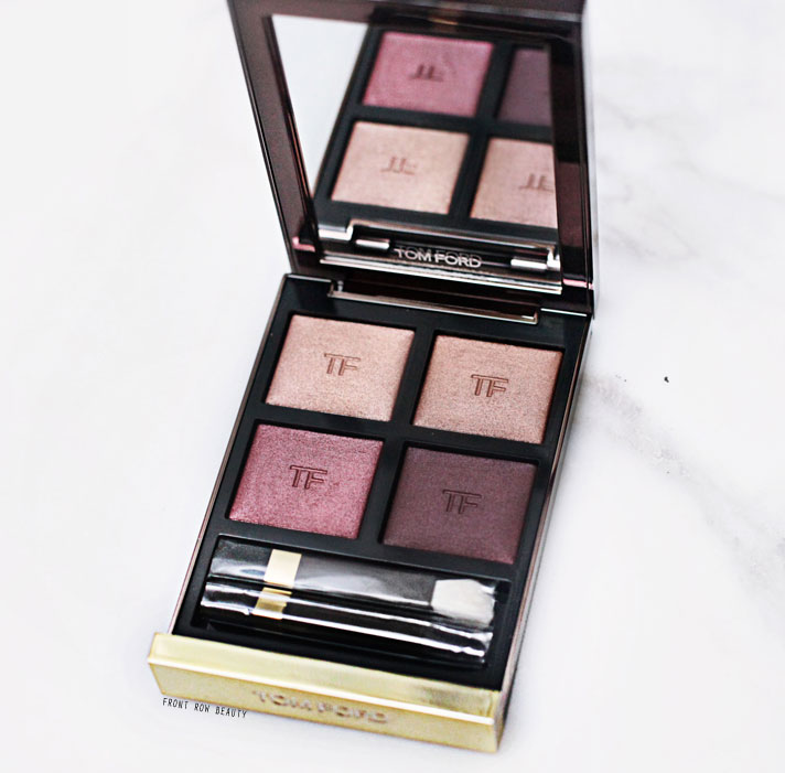 Tom Ford Eyeshadow Quad Honeymoon Review, Swatch and FOTD