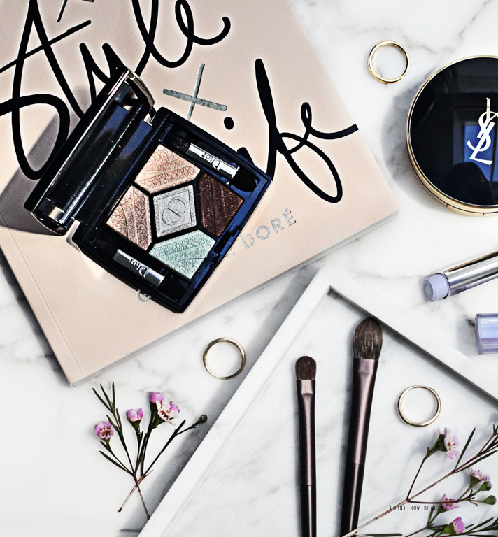 Dior Skyline Collection – 5 Couleurs Eyeshadow Palette 506 Parisian Sky Review and Swatch