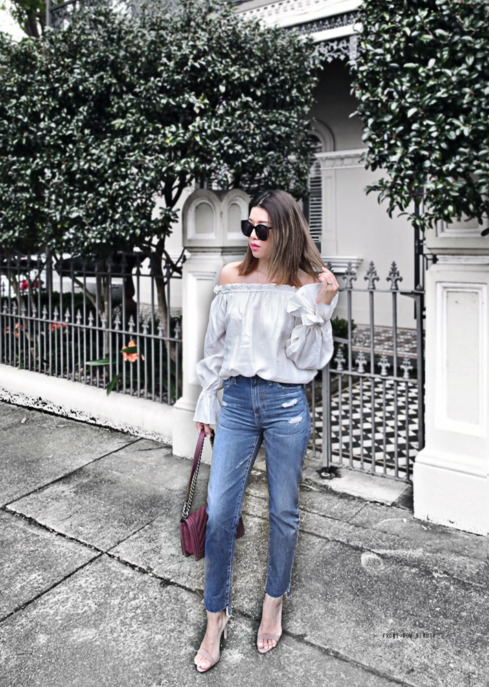 ag-phoebe-high-waisted-jeans-ootd-chanel-boy-bag-plum-suede