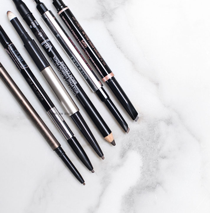 best-eye-brow-pencils-chanel-anastasia-beverly-hills-benefit-it-cosmetics-shu-uemura-kanebo-review-swatch-3