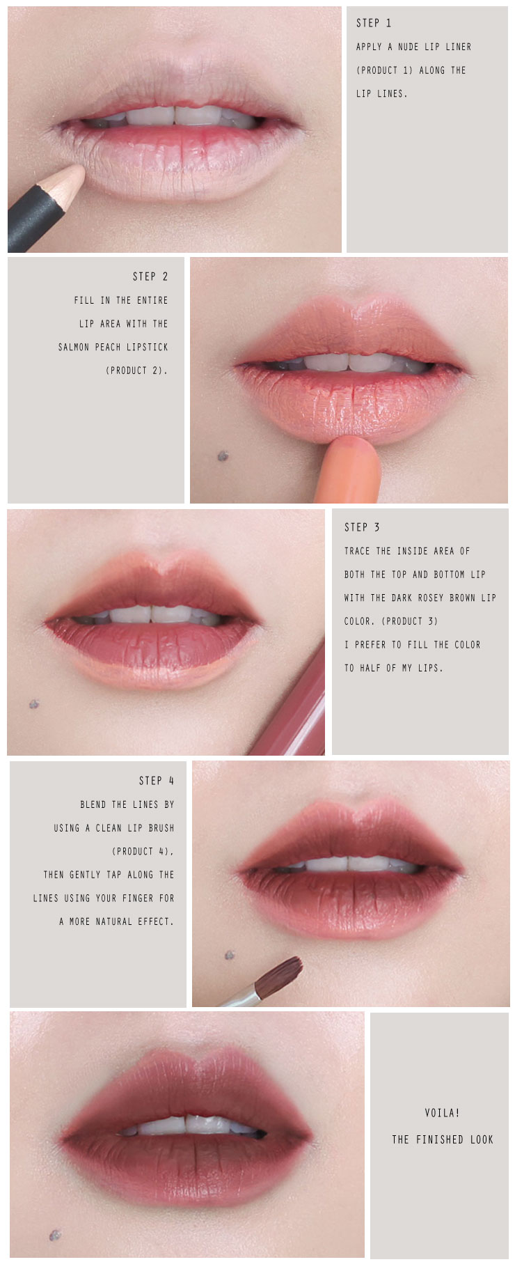 brown-ombre-lip-color-tutorial-step-by-step-guide