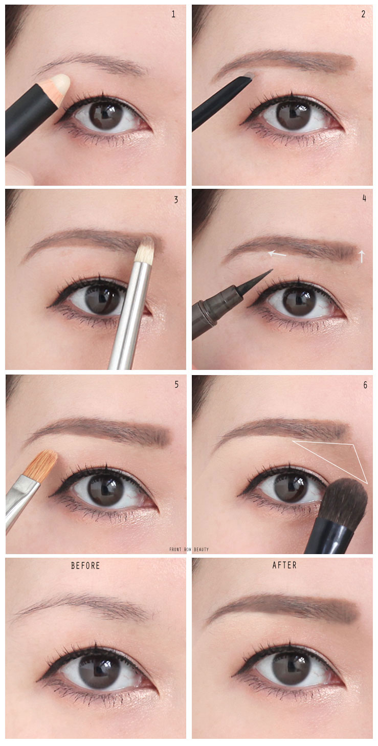 Makeup tutorials the perfect natural looking eye brow routine tutorial baditri Gallery
