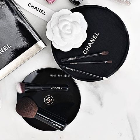 On my blog today - the LE #chanel mini travel brush set for Holiday 2016 (link in bio) They are…