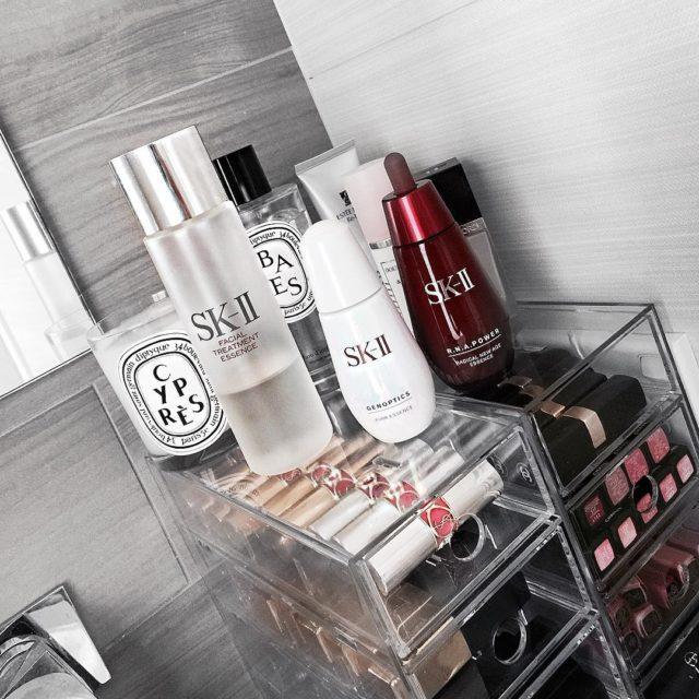 Loving SKII #luxurybeauty #comingsoon #skincarelover #skiiskincare #vanity #bblogger #lipstickjunkie