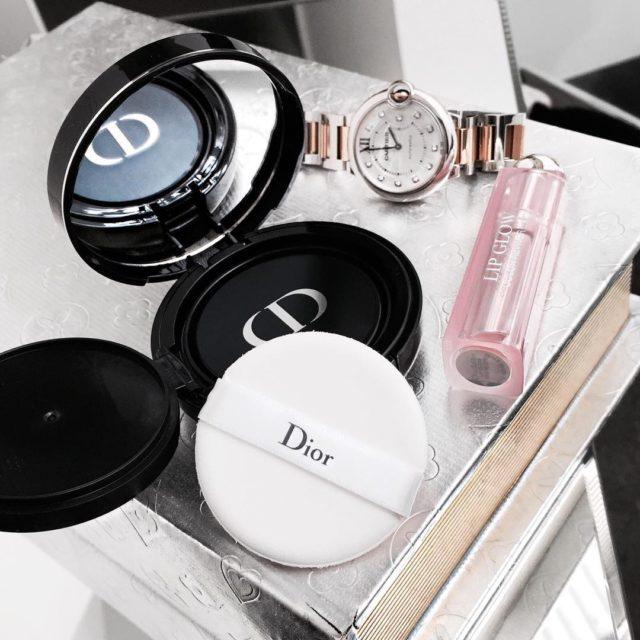 #newin Dior forever cushion foundation #beautyjunkie #dior #diorbeauty #diormakeup #cartier #cartierballonbleu #luxury