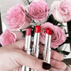 Dior Addict Lacquer Stick Review and Swatch – Lazy, Turn Me Dior and Party Red