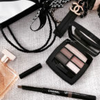 Chanel Les Beiges Healthy Glow Eyeshadow Palette and Stylo Sourcils Waterproof Longwear Eyebrow Pencil Review and Swatch
