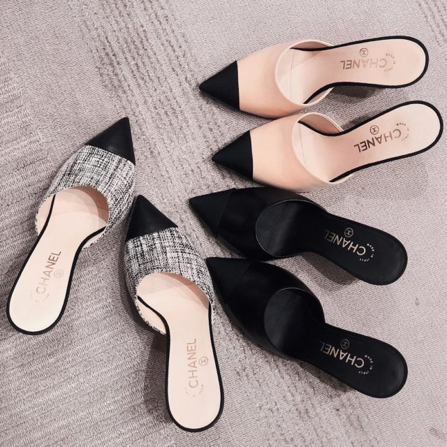 Obsessed with mules love them all #chanel #chanelcruise2018 #chanelshoes #chanelmules #chanelfashion