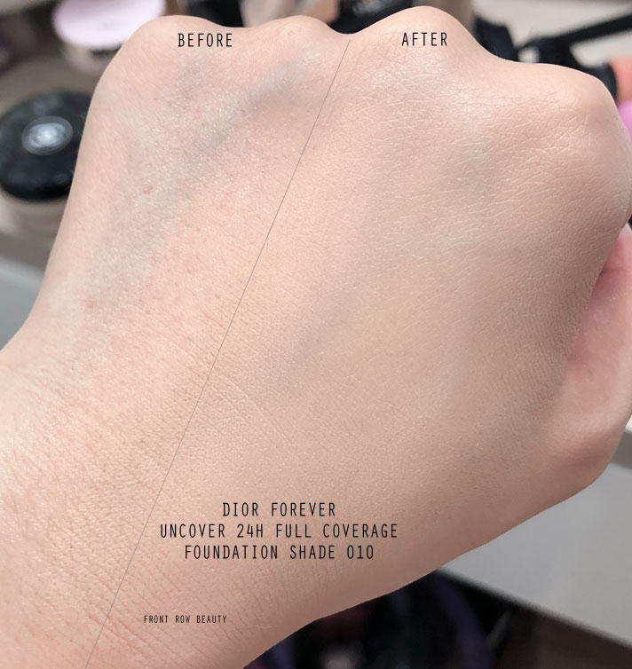 826b2b13b5 DIOR DIORSKIN FOREVER UNDERCOVER 24H Full Coverage Foundation Review ...